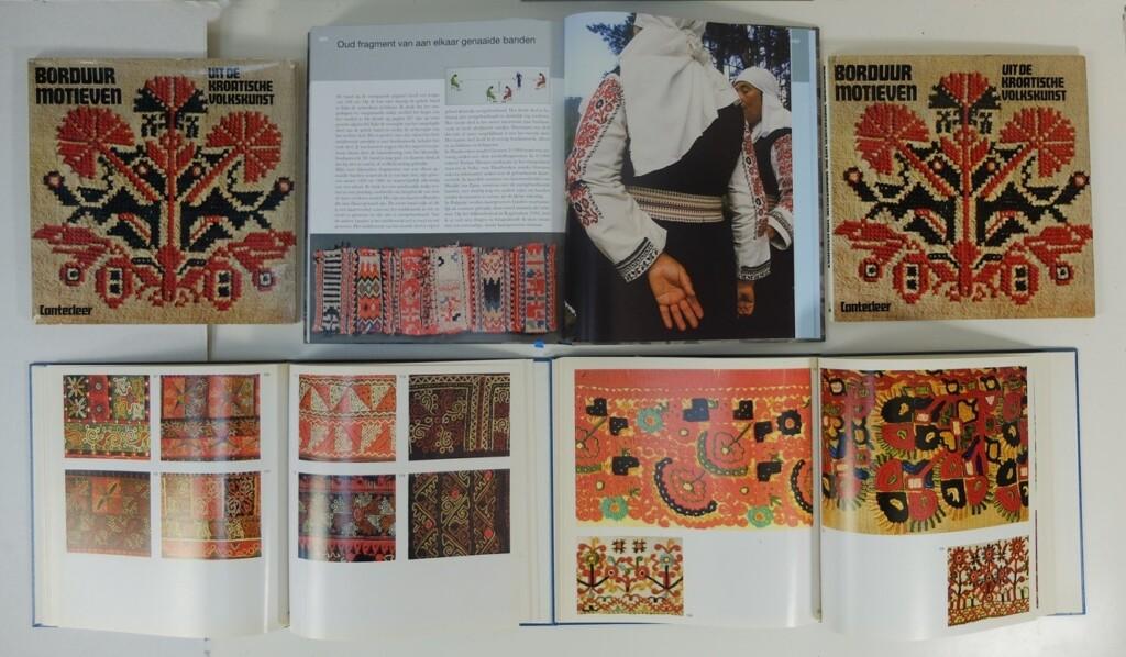 Boeken over Joegoslavisch borduren
