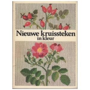 Boekje Nieuwe kruissteken in kleur Gerda Bengtsson