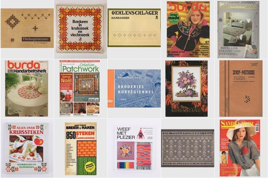 Collage 15 Tweedehands handwerkboeken