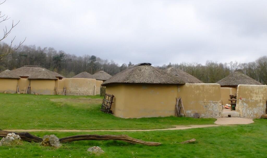 Dorpje in Afrika museum