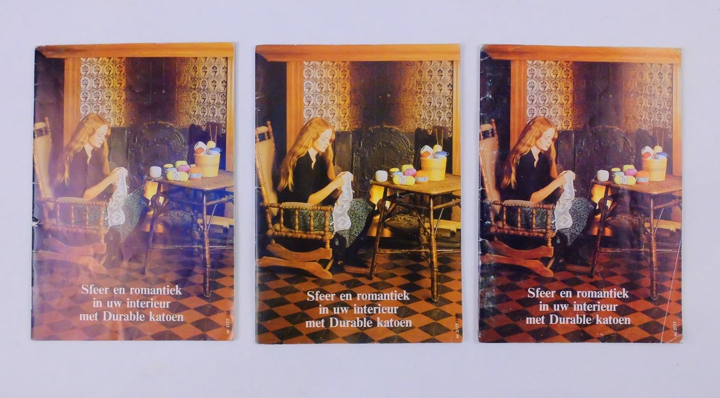 Drie boekjes sfeer en romantiek in uw interieur