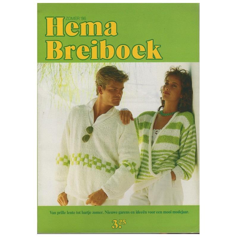Hema breiboek zomer 1986