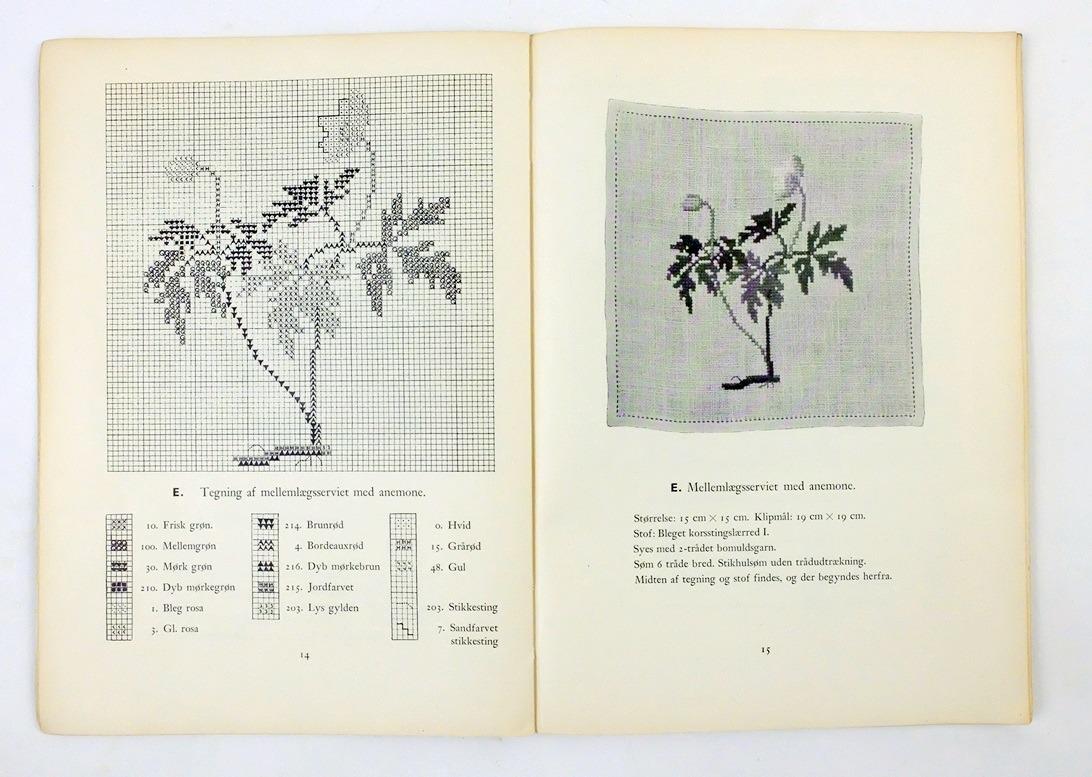 Pagina uit boek Korsstingsarbejder I