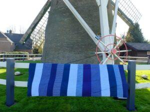 Picknickkleed bij molen