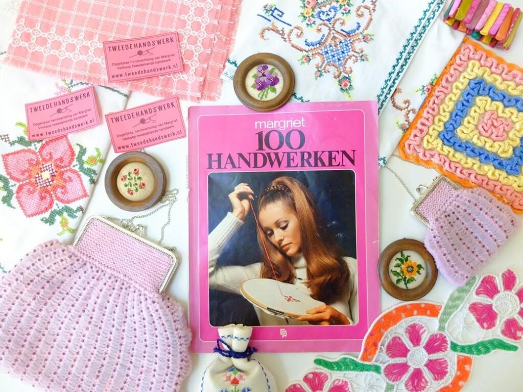 Tijdschrift Margriet 100 handwerken