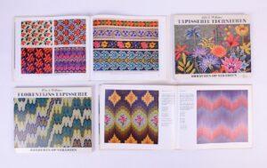 Twee boeken Tapisserie