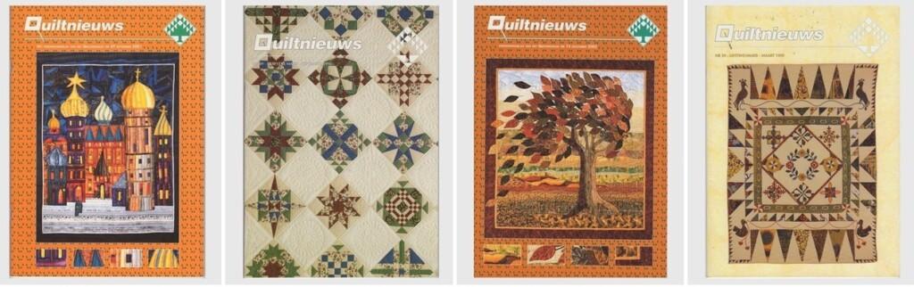 Vier tijdschriften Quiltnieuws