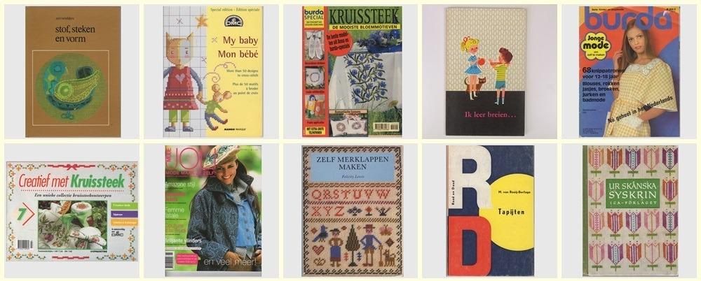 Tien tweedehands handwerkboeken