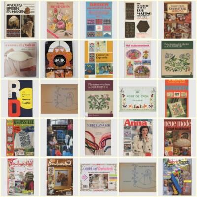 25 tweedehands handwerkboeken