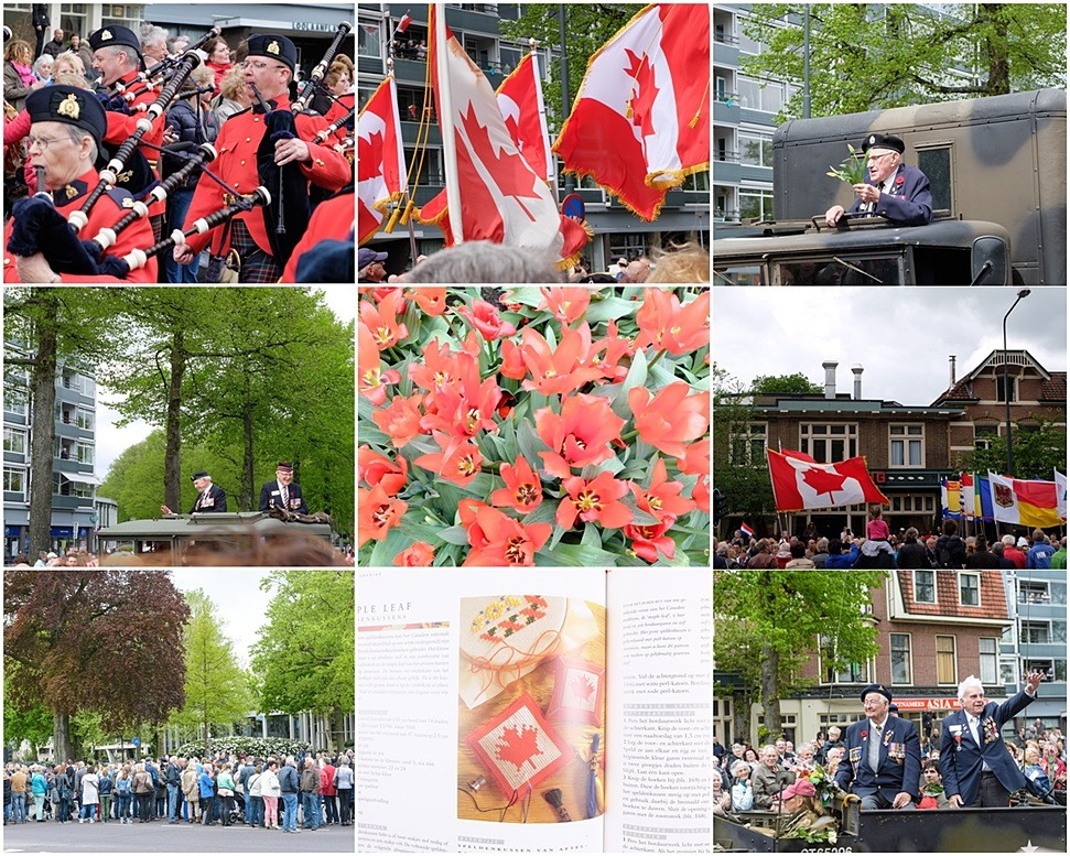 Collage Veteranenparade