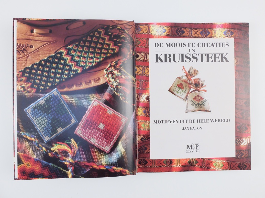 Boek De Mooiste Creaties In Kruissteek