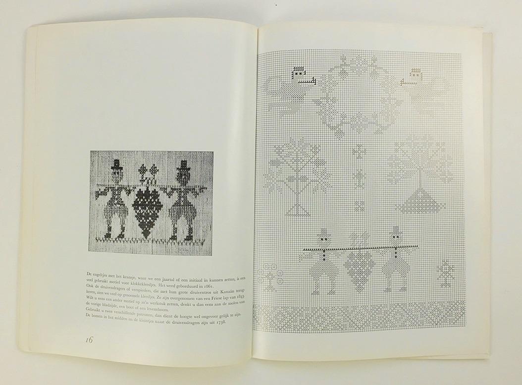 Pagina uit boek Merklappen