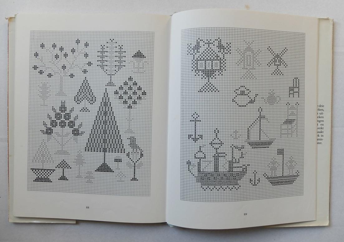 Pagina uit boek Zelf merklappen maken