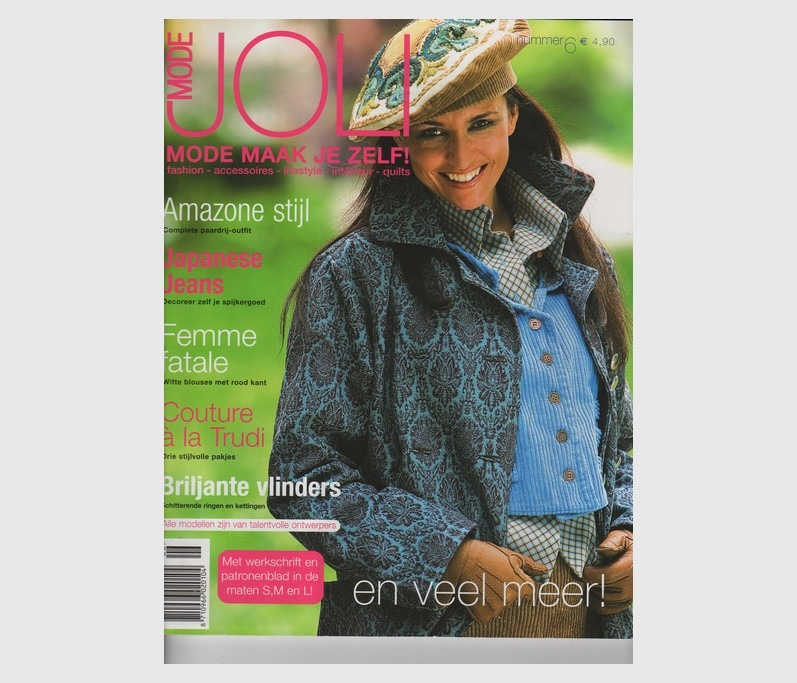 Tijdschrift Joli Mode 2006
