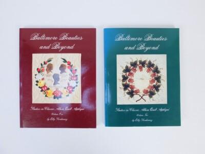Twee boeken Baltimore Quilts