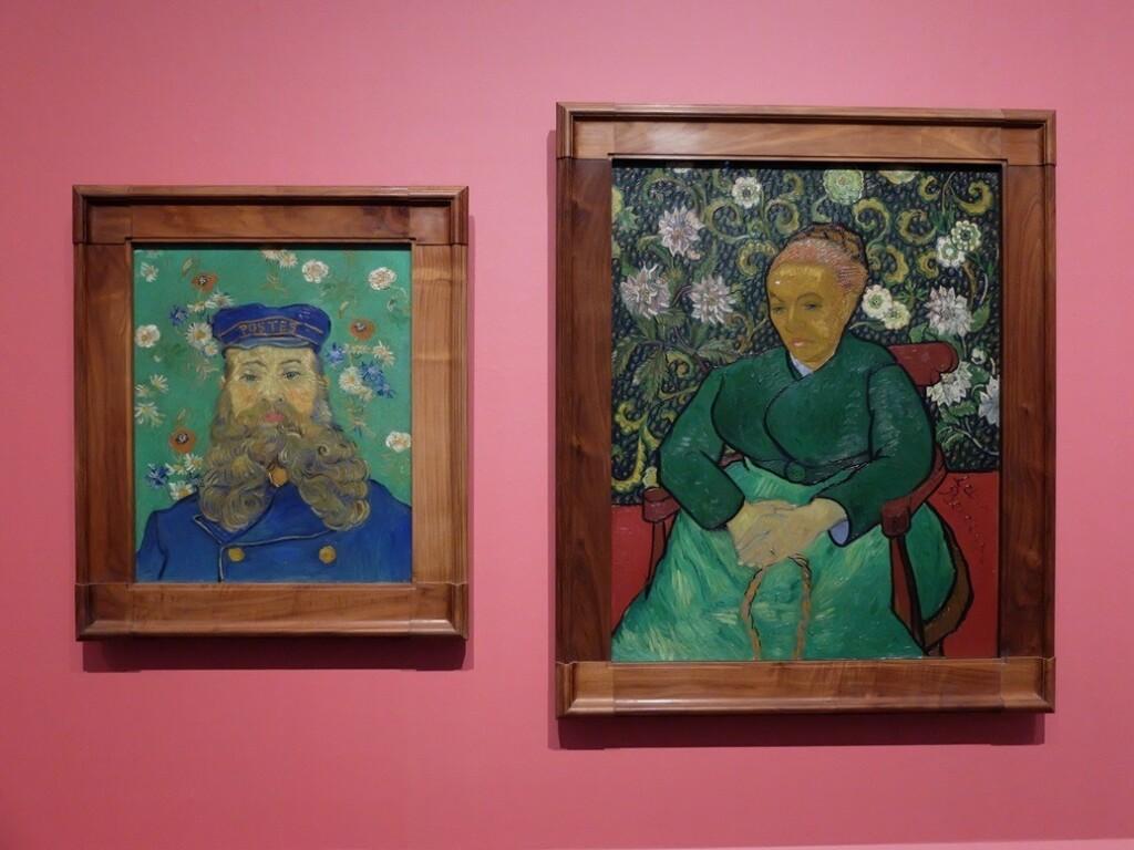 Twee schilderijen van Van Gogh