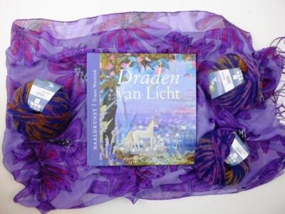 Boek Naaldkunst Draden van licht