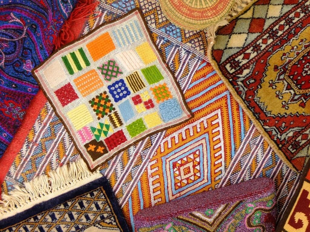 Diverse handwerken in kleur