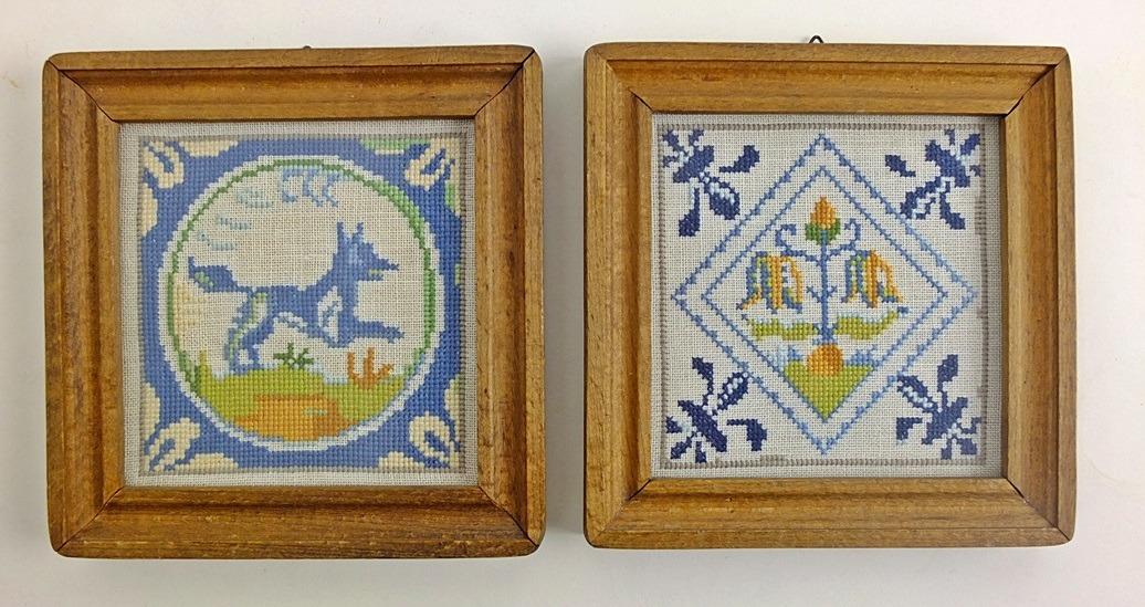 Oud Hollandse Tegeltjes : Gebroken tegeltjes