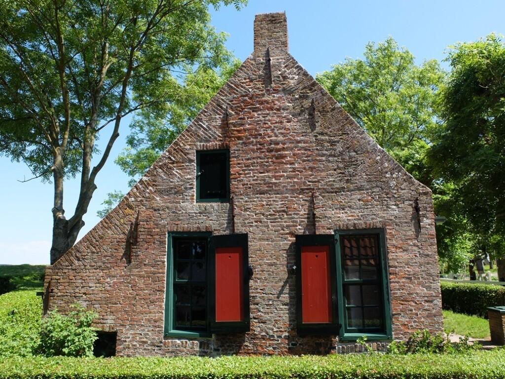 Huisje in Zuiderzeemuseum Enkhuizen