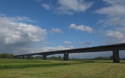 Nieuwe brug over IJssel bij Brummen