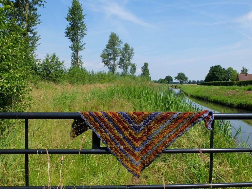 Sjaal van Wibra wol