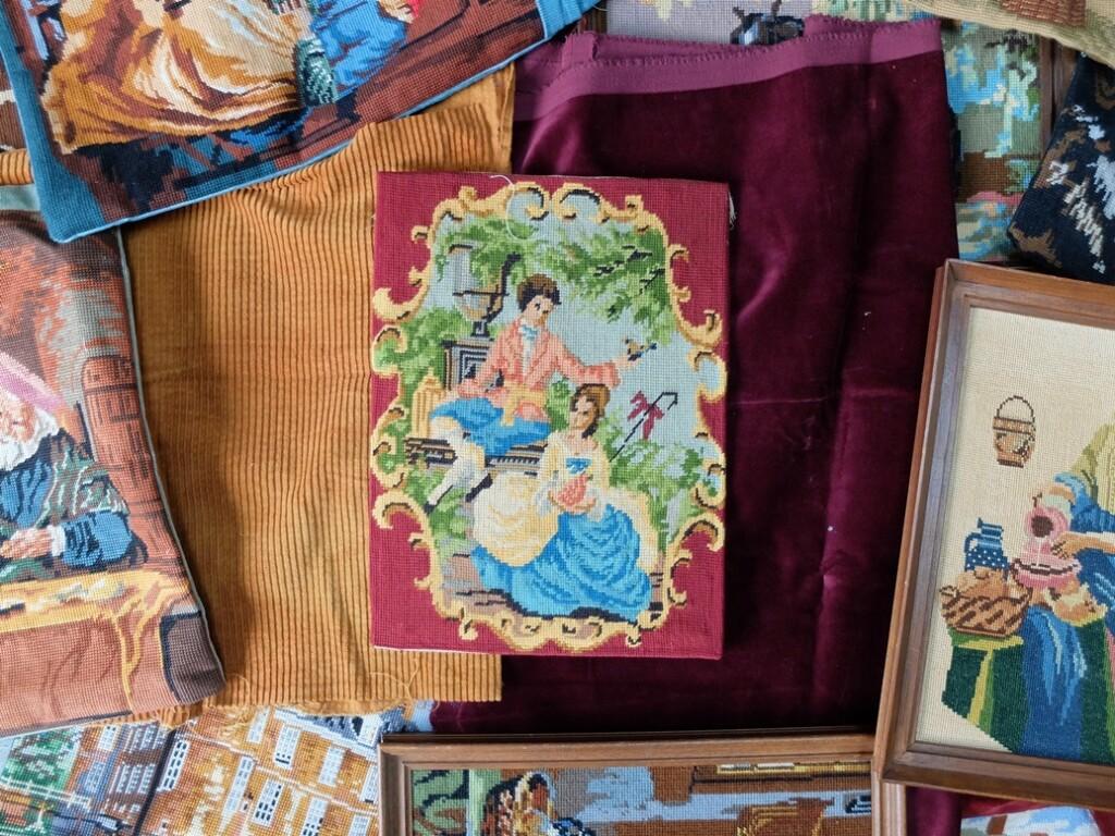 Tapisserie borduurwerken