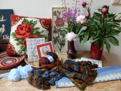 Diverse handwerken en bloemen