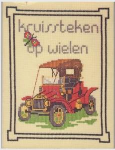 Boek Kruissteek op wielen