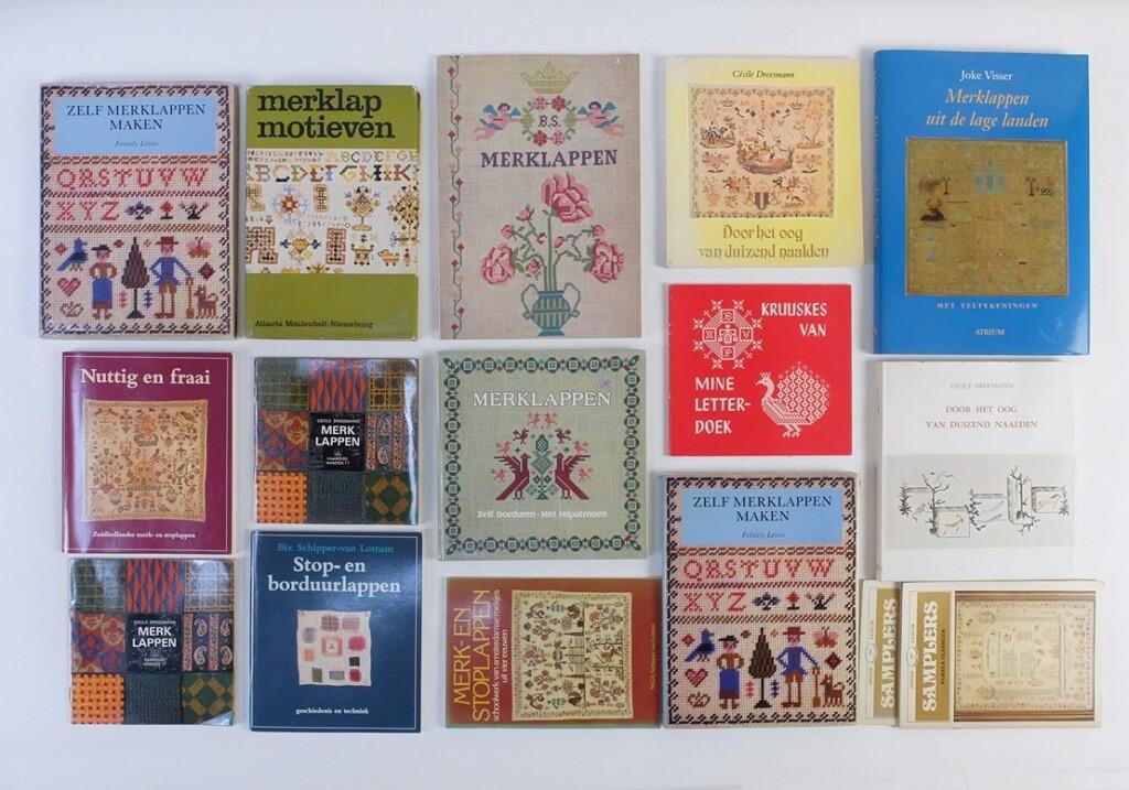 Boeken over Merklappen
