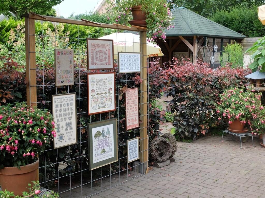 Borduurwerken in tuin Boerenwente