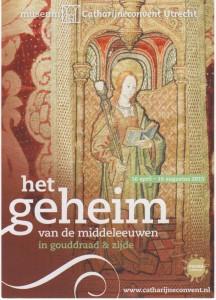 Folder tentoonsteling het geheim van de middeleeuwen