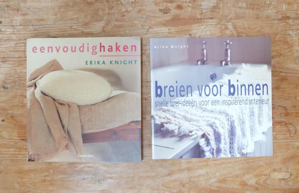 Twee boeken van Erika Knight
