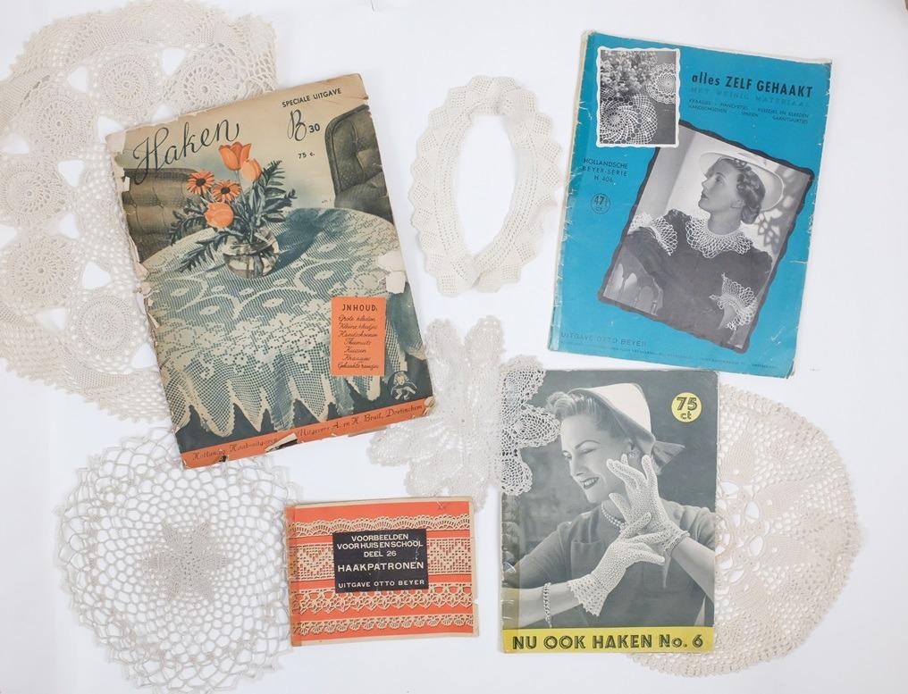Vier oude haaktijdschriften