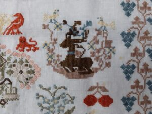Detail merklap 1987