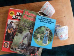 Drie handwerkboeken