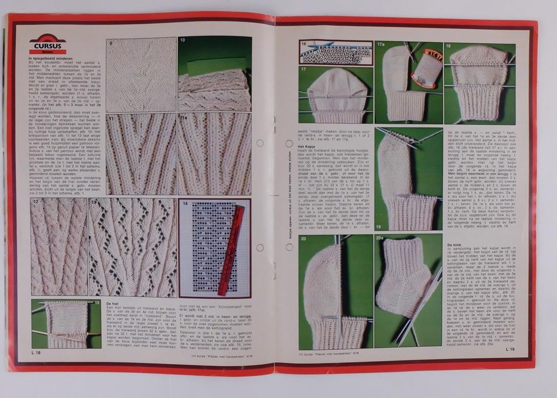 Tijdschrift Burda Plezier met handwerken