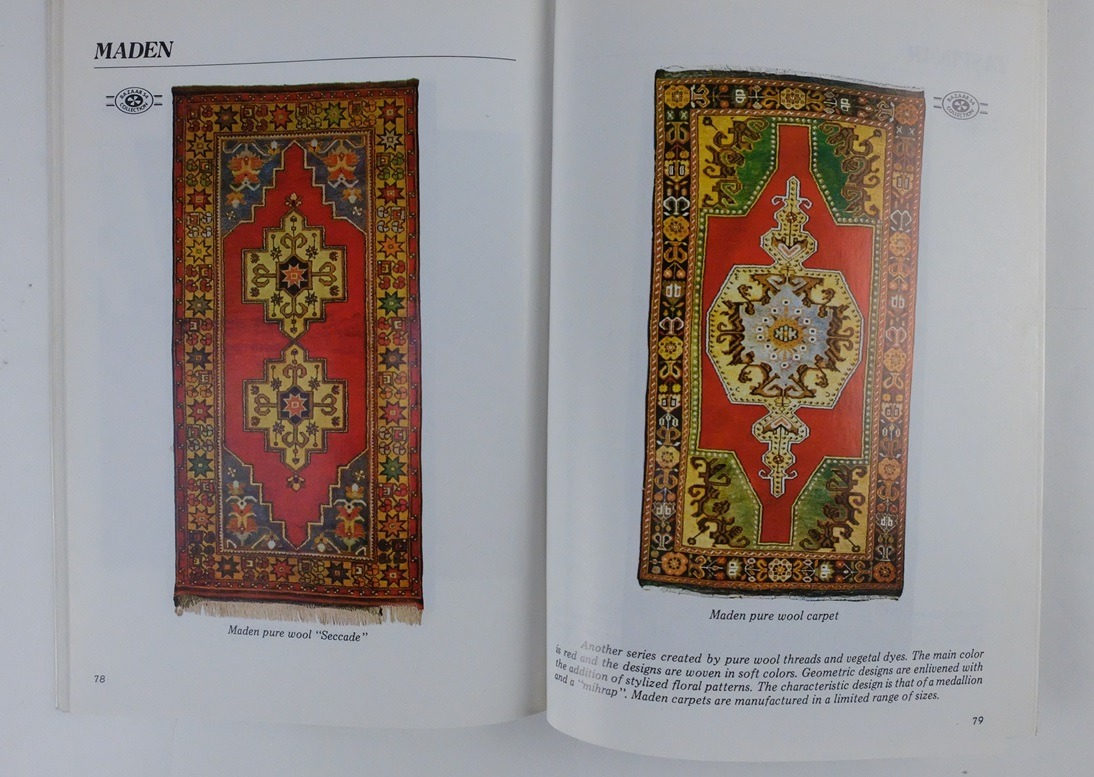 Pagina uit Comtemporary Handmade Turkish Carpets