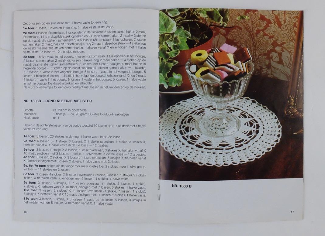 Pagina uit Durable boekje