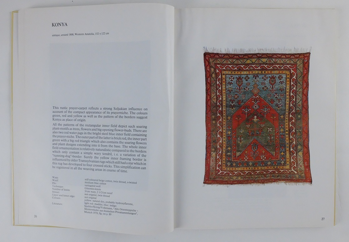 Pagina uit boek The Old and Antique Oriental Art of Weaving