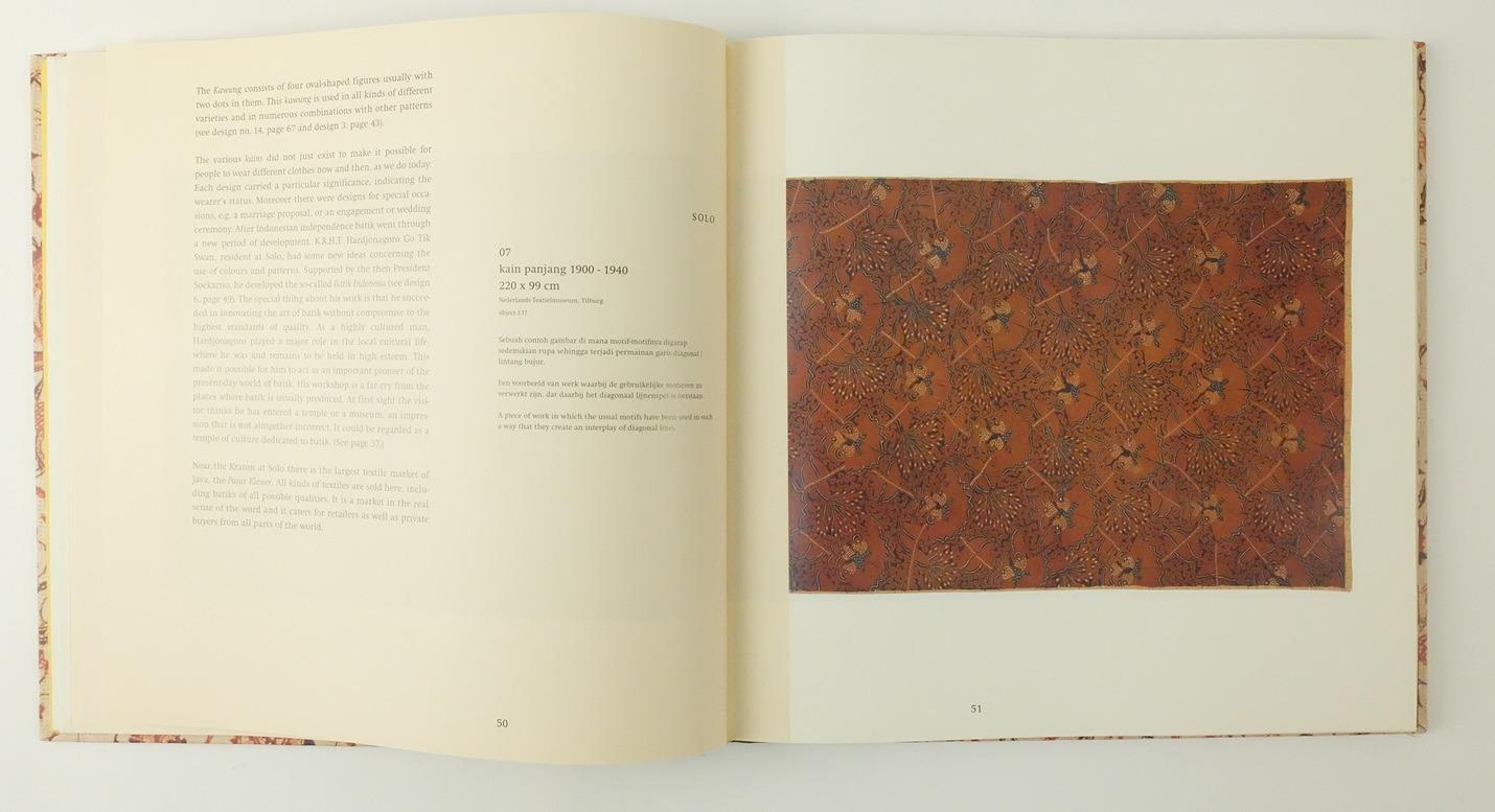 Pagina uit boek Batik