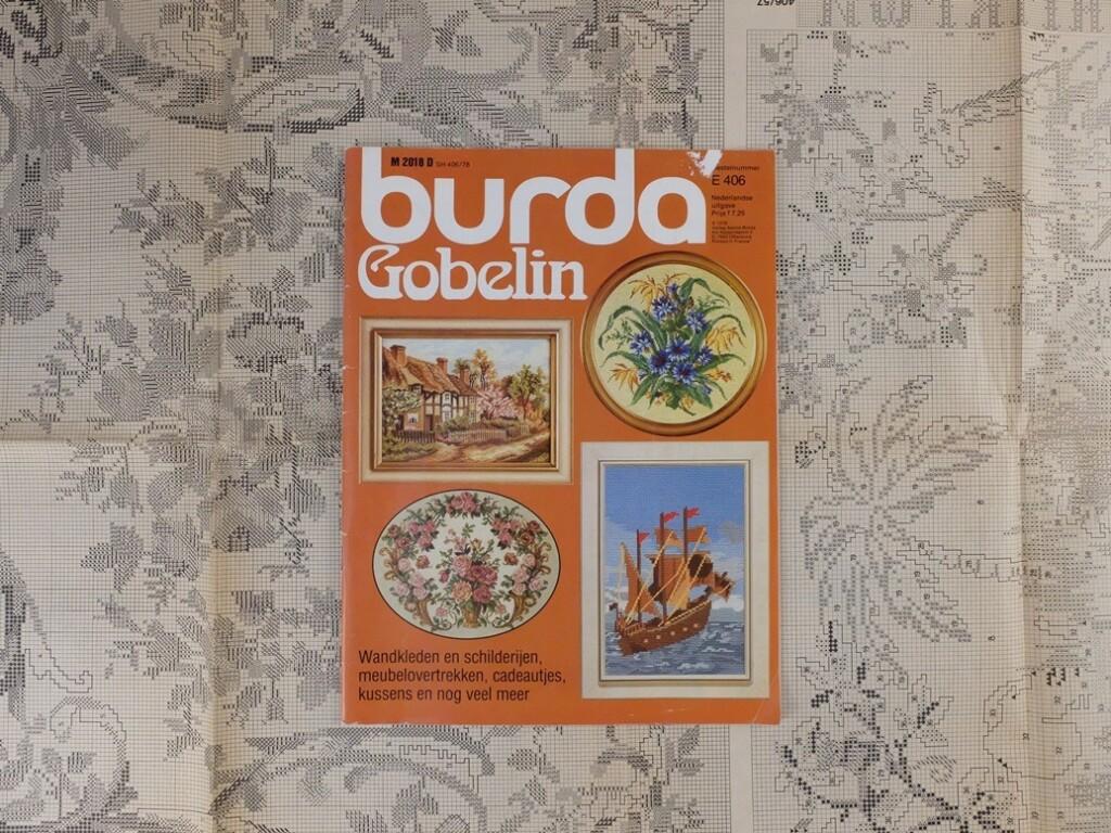 Tijdschrift Burda Gobelin