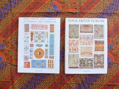Twee boeken Folk Art