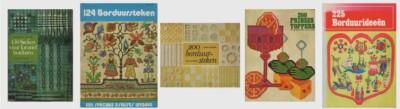 Vijf borduurboeken