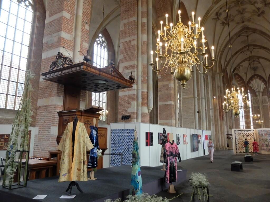 Algemene tentoonstelling quiltersgilde in Deventer