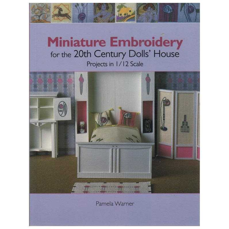 Boek Miniature Embroidery Dolls House