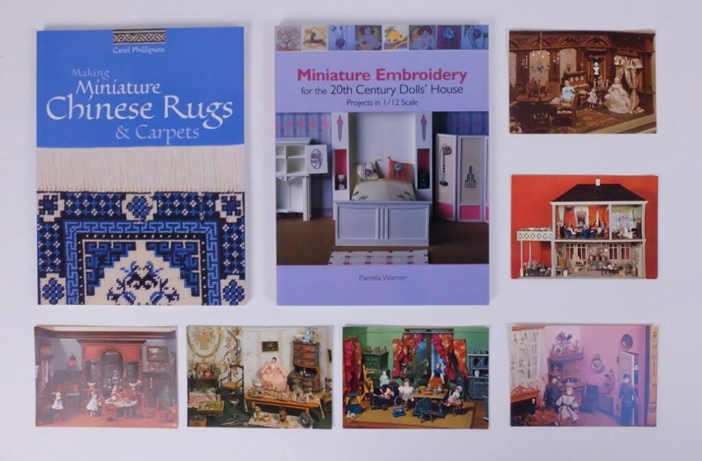 Boeken Borduurpatronen voor poppenhuizen