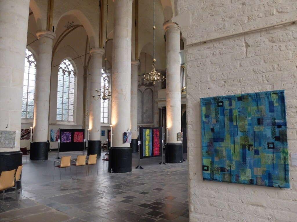 Colourquilts in Bergkerk Deventer