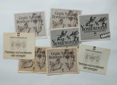 Oude borduurpatronen tijdschrift MargrietGratis borduurpatroon Margriet