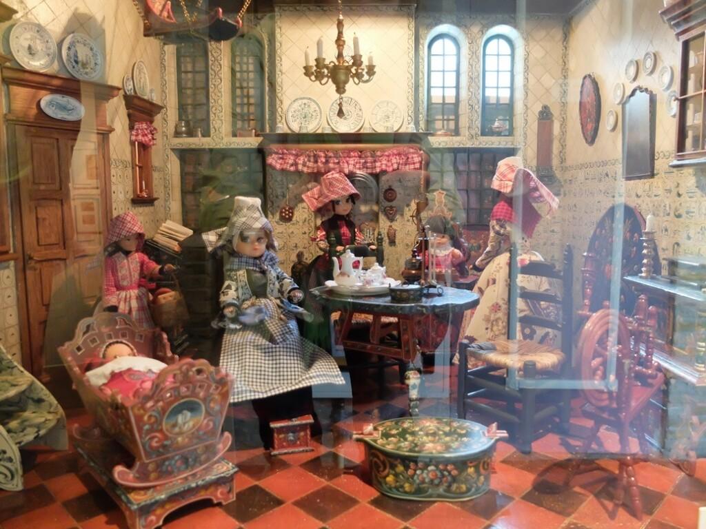 Huiskamer in museum Hindeloopen